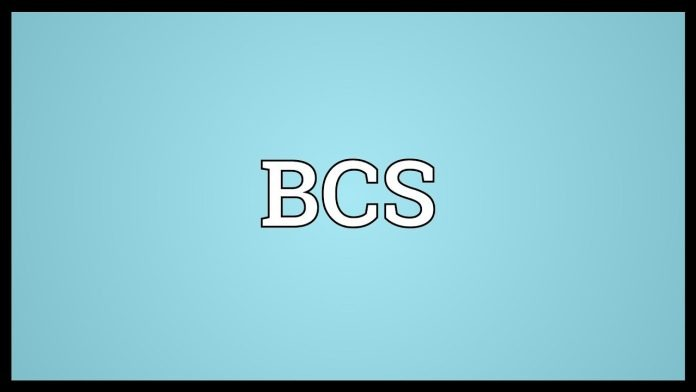 What's the meaning of BCS?